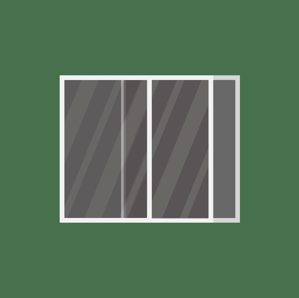 single slider replacement window
