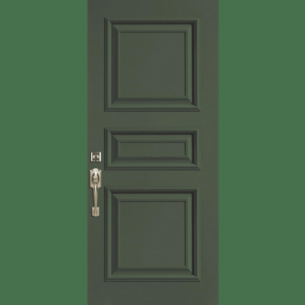 Solid door entry door replacement