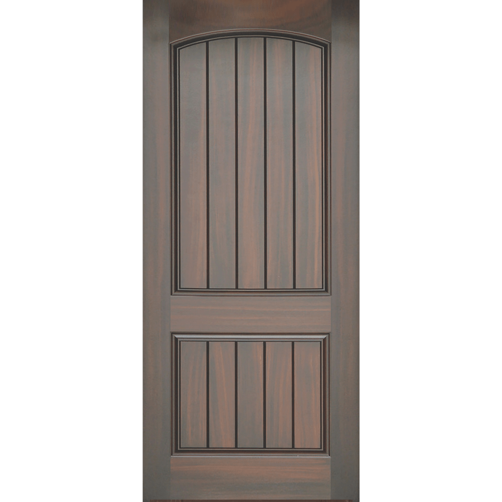 Panel with lines entry door replacement