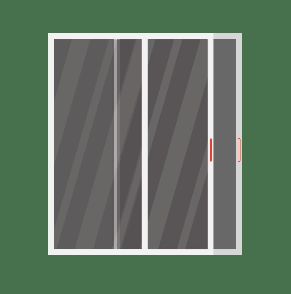 Patio patio door replacement